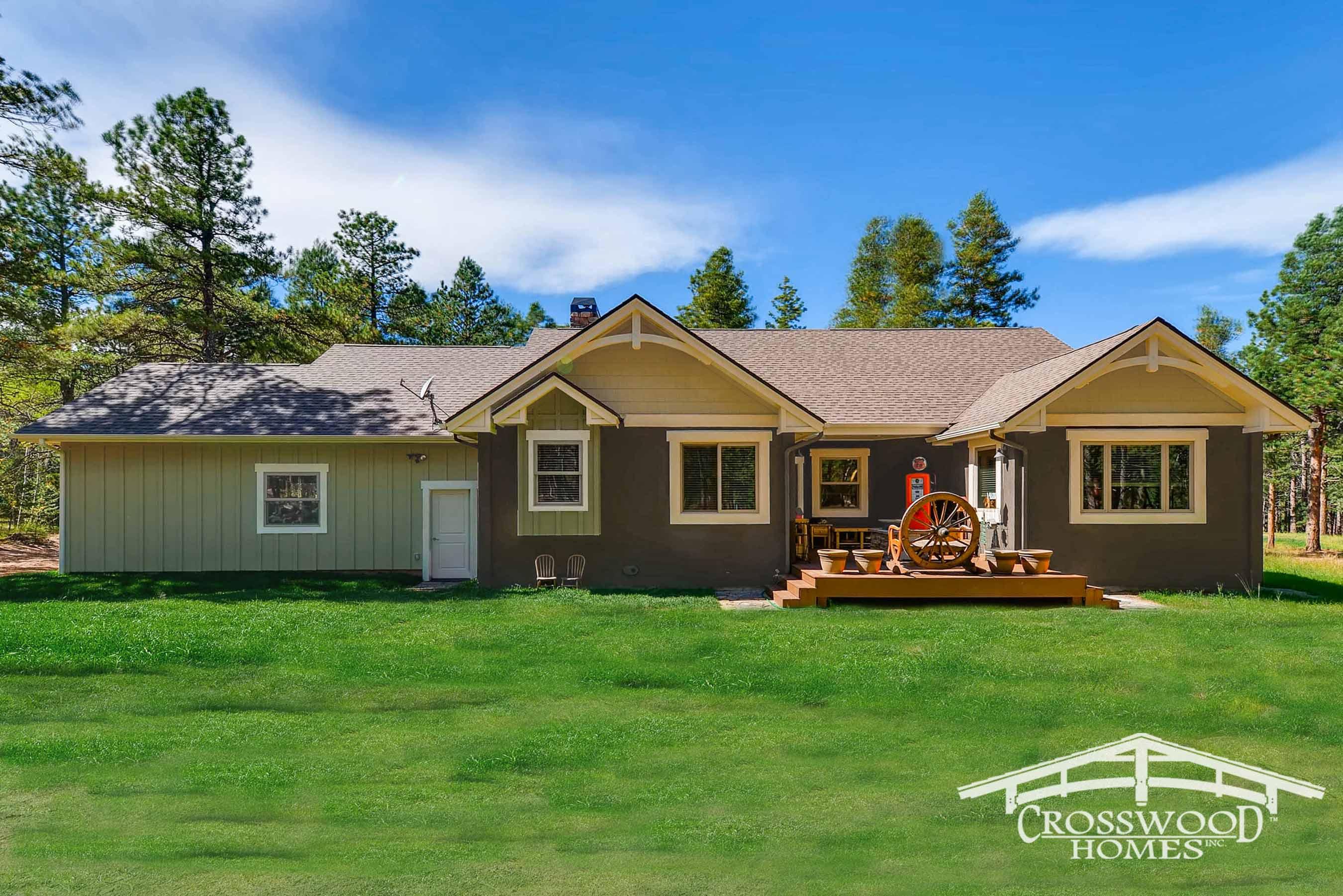 Crosswood Homes Custom Mountain Home