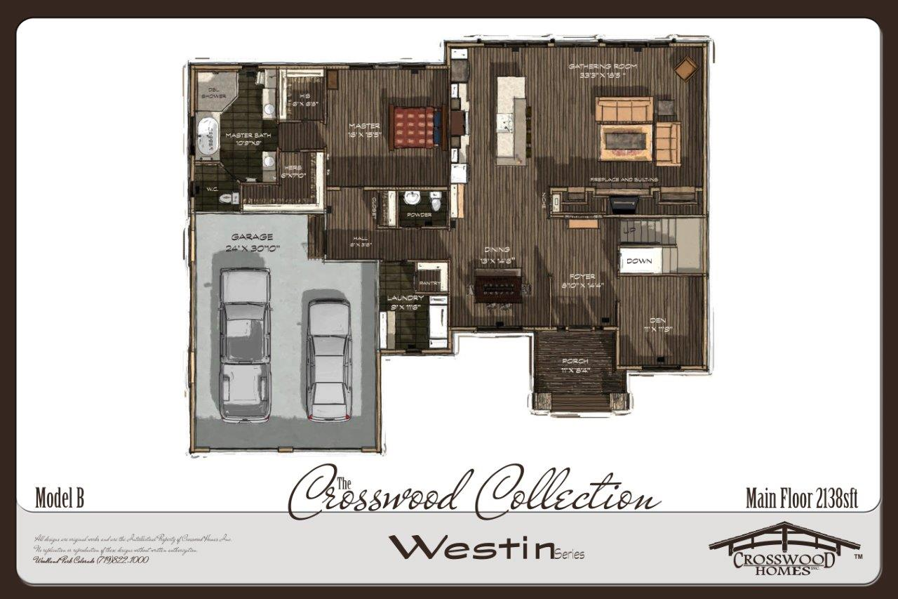Crosswood Homes Westin B PLAN