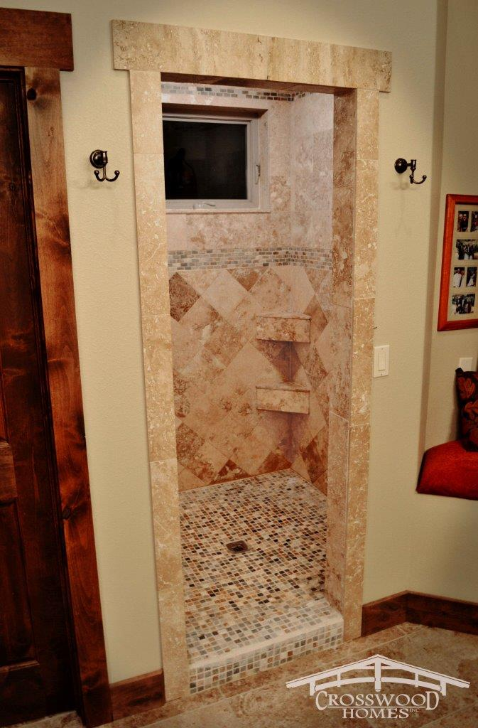 Crosswood Homes Model Master shower