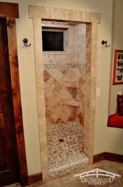 Crosswood Homes Model Master shower