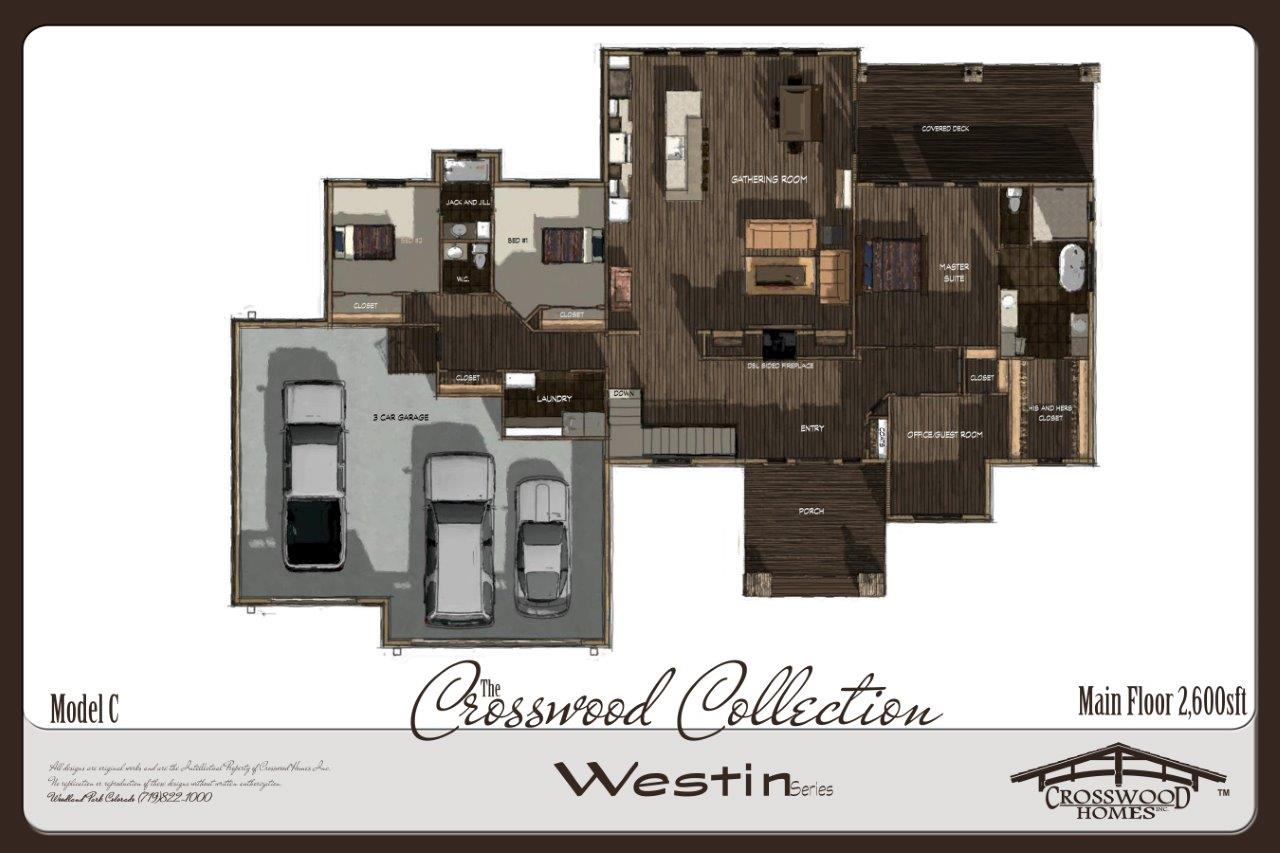 Crosswood Homes Westin C PLAN