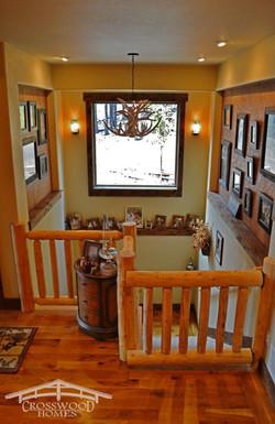 Crosswood Homes Model Foyer