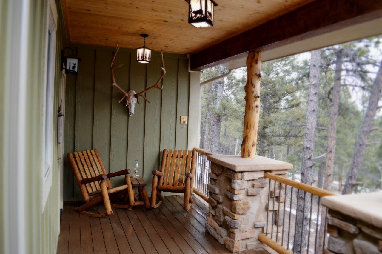 Woodland Park Home Builder porch