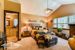 Master Suite by Crosswood Homes