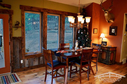 Crosswood Homes Model Dining room