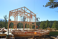Timberframe Custom Construction by Cross