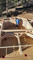 Timberframe Custom Construction by Cross
