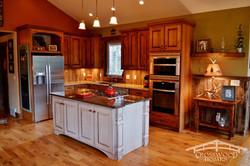 Crosswood Homes Model Home Kitchen