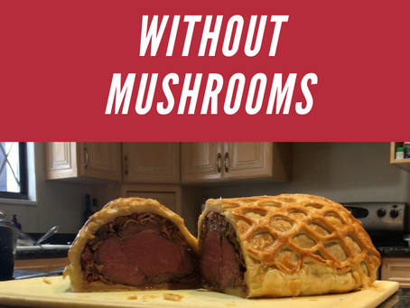 Beef Wellington Without Mushrooms