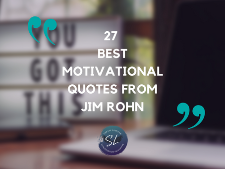 The Best Motivational Quotes From Jim Rohn