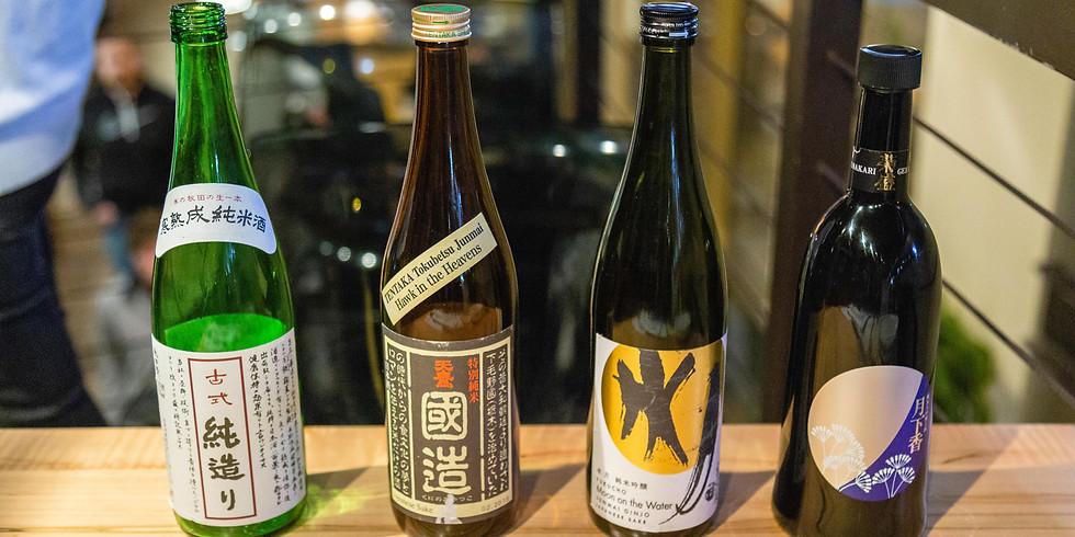 Celebrate World Sake Day with JASCO and Rishi Sushi!