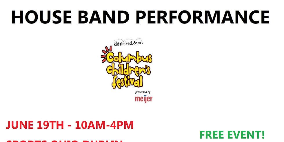 House Band at Kidslinked Children's Festival