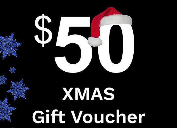 $50 Xmas Gift Card