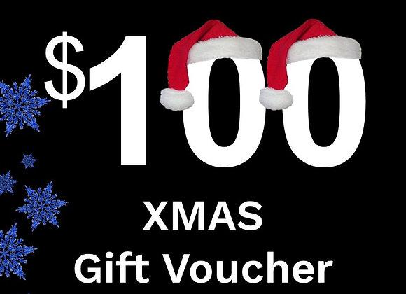 $100 Xmas Gift Card