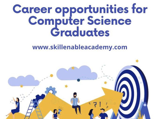 Career options for Computer Science Graduates