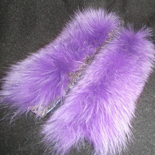lavender  fox cuffs