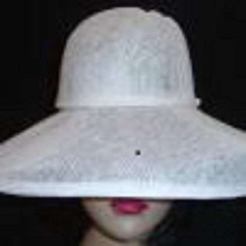 Buckram hat frame