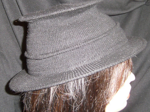 Grey wired hats