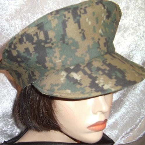 Tri-color camougflage hat