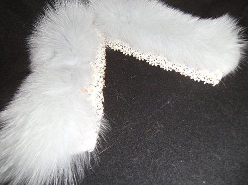 Blue fox slap cuff set