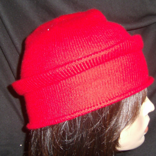 Red wired hats