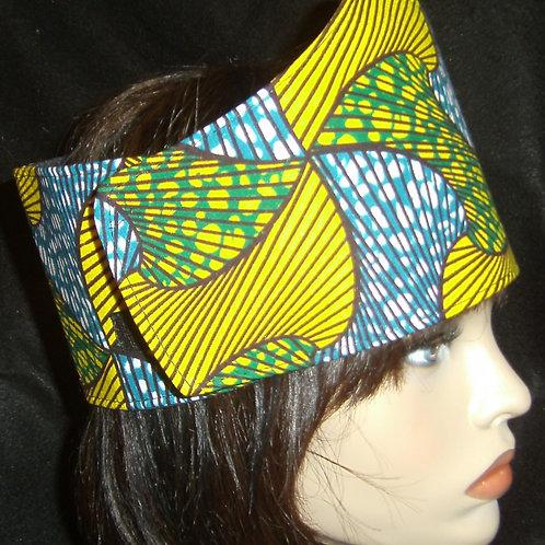 African print wrap #301