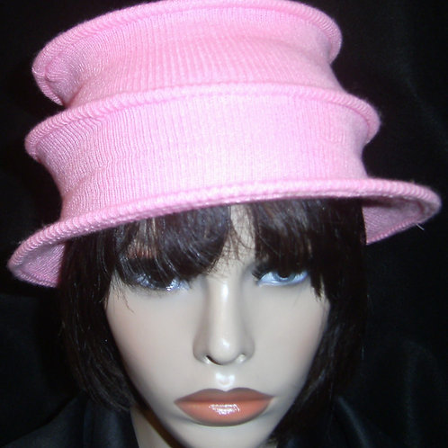 Pink wired cap