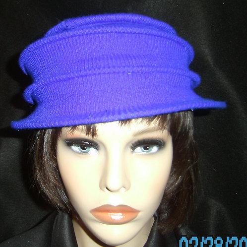 Blue wired cap