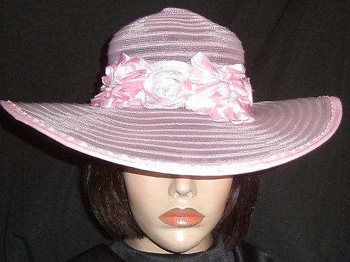 Pink horse hair hat