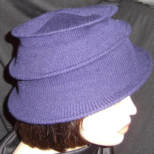 Blue wired hat