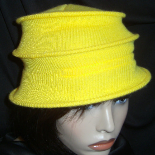 Yellow wired cap