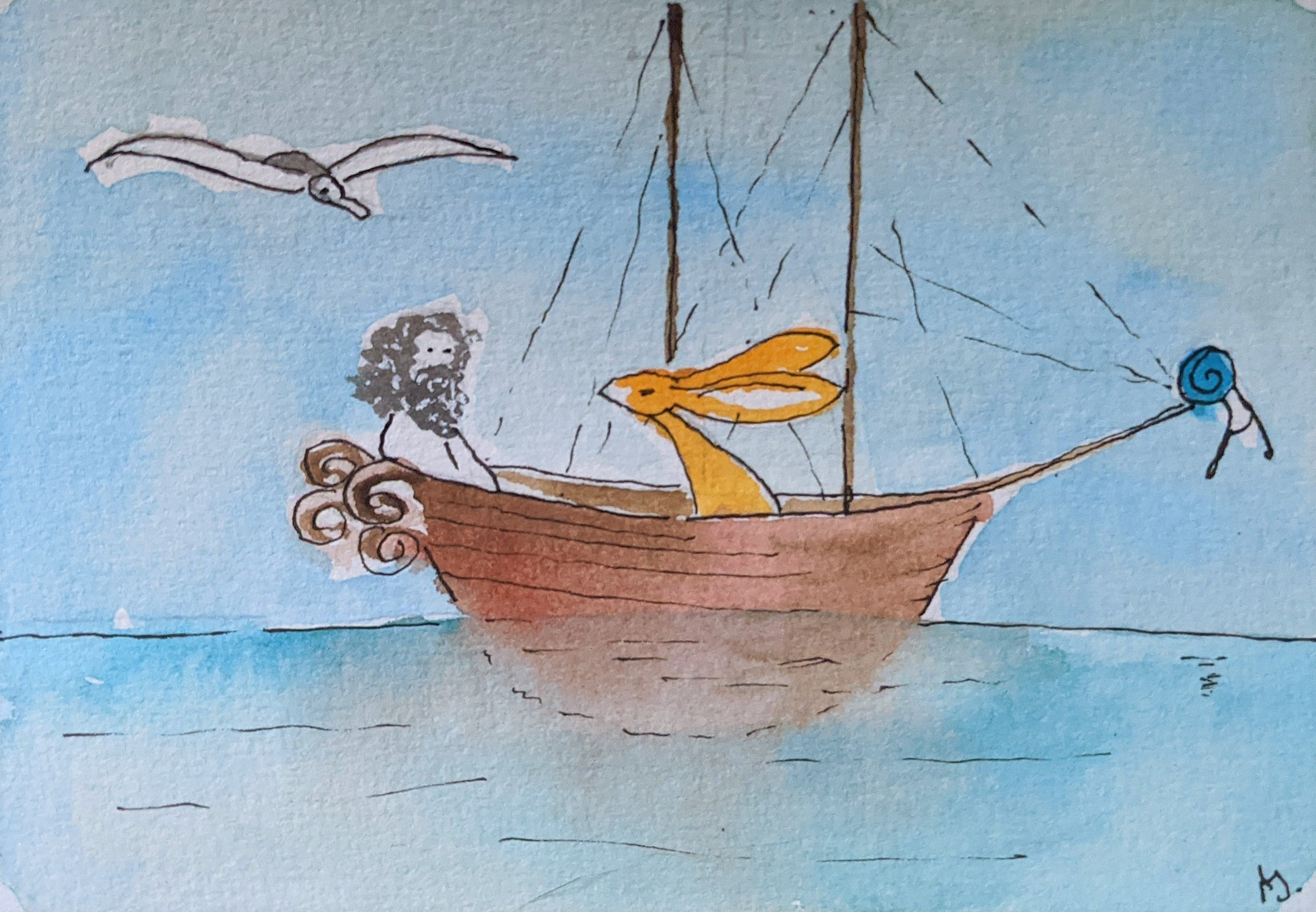 Day 49 The Rime of the Ancient Mariner