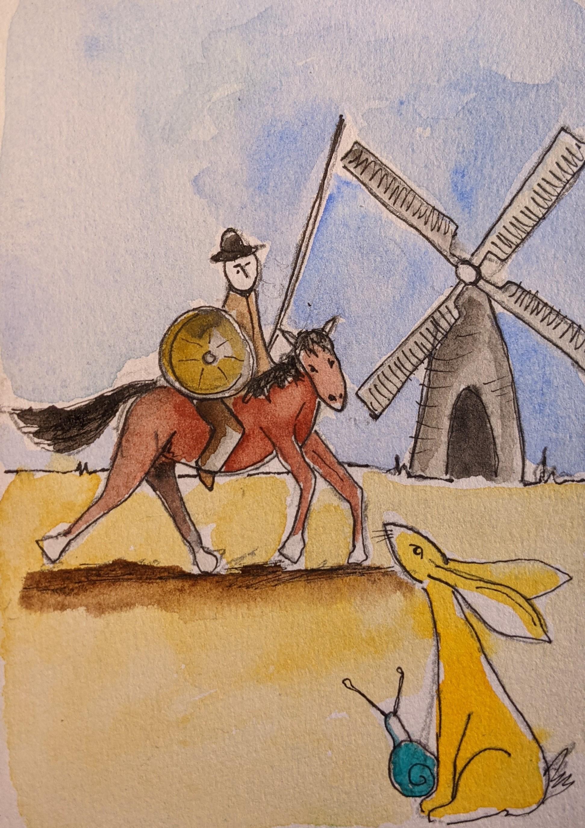 Day 30 Don Quixote