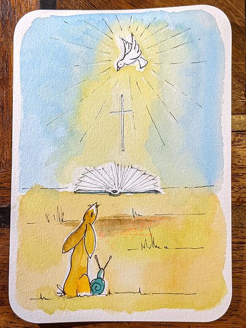 Postcard - The Bible