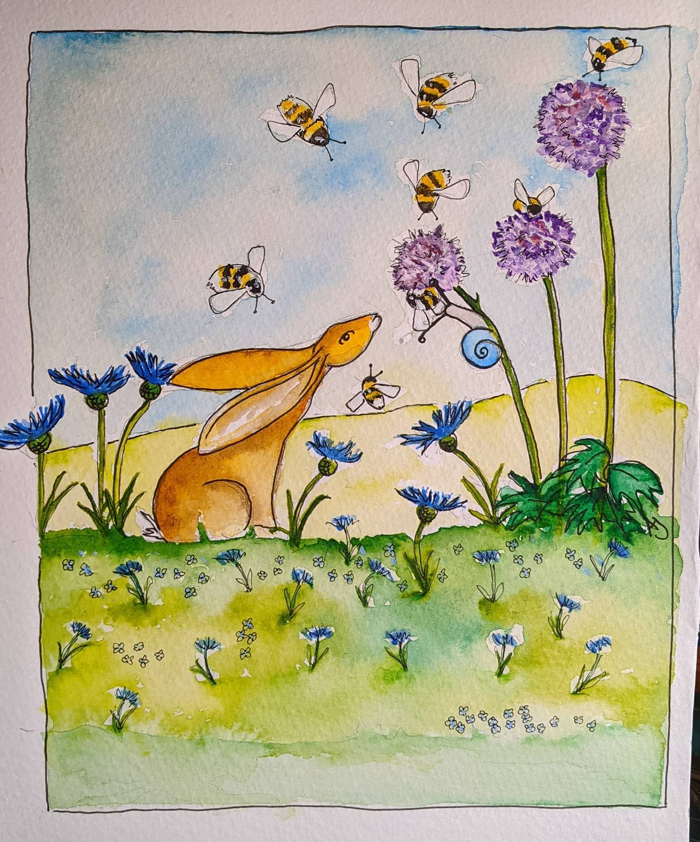 Hare and Snail Commission