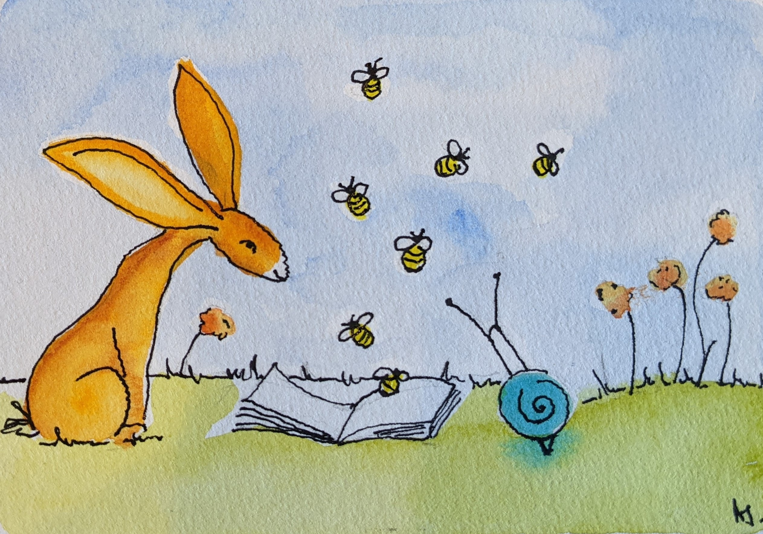 Day 41 The Book of Bees