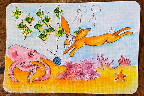 Postcard - Under the Sea1