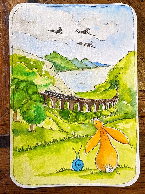 Postcard - Aquaduct