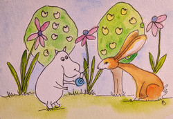 Day 4 The Moomins