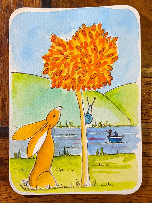 Postcard - Tree