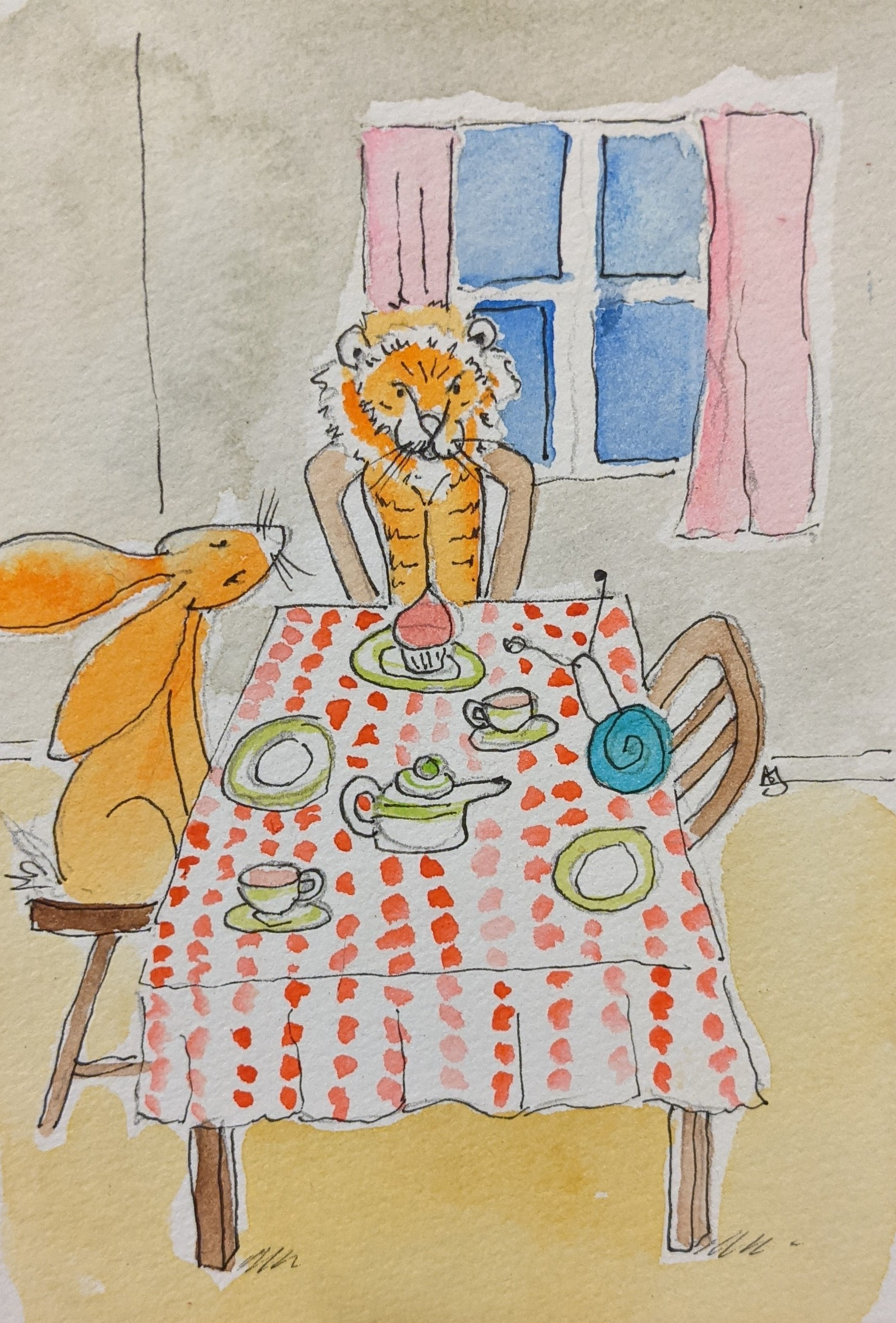 Day 25 The Tiger Who Came to Tea