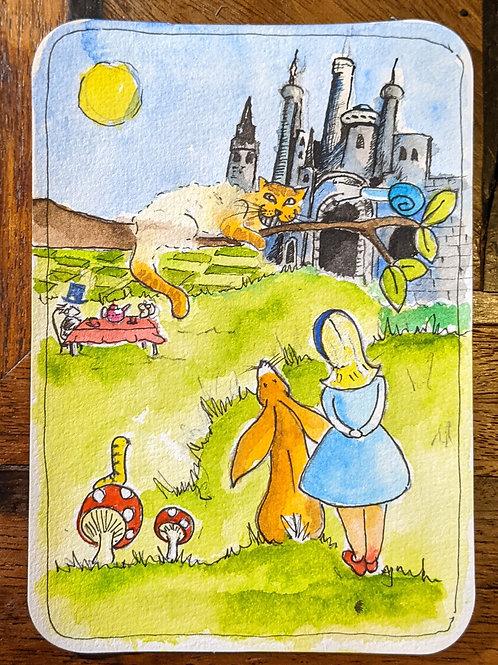 Postcard - Alice