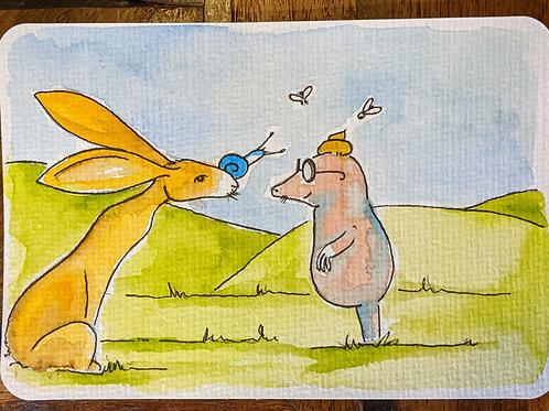 Postcard - Mole