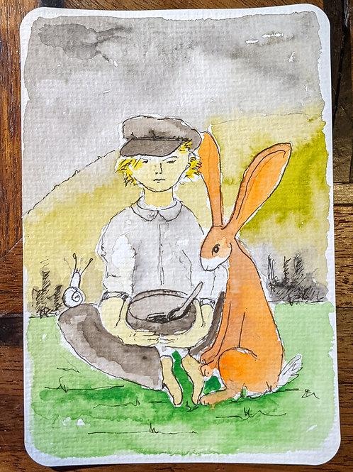 Postcard - Oliver