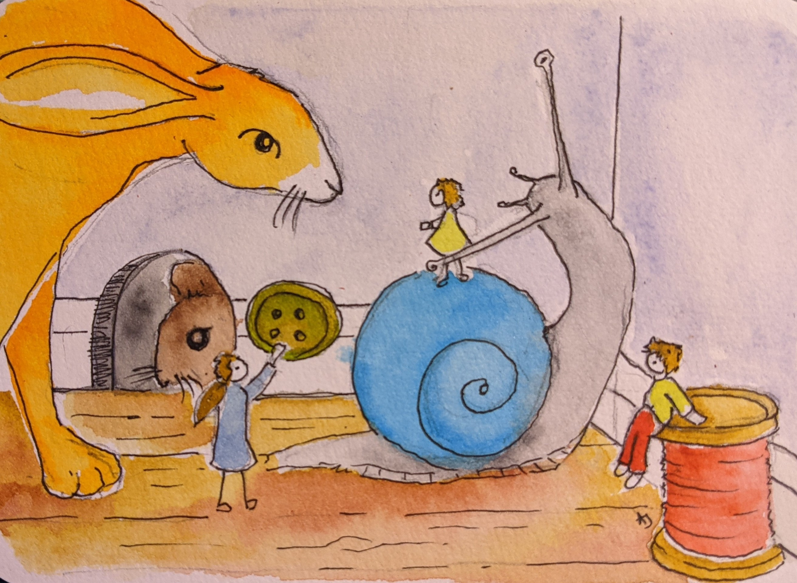 Day 21 The Borrowers