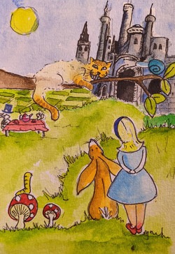 Day 5 The Adventures of Alice in Wonderl