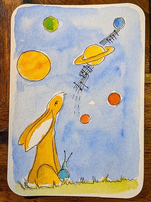 Postcard - Planets
