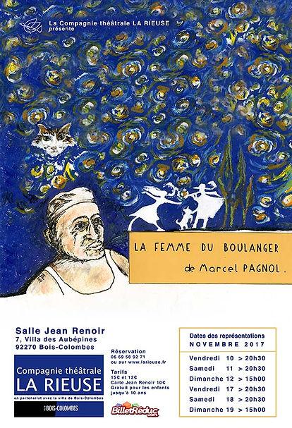 "AFFICHE ""La Femme du Boulanger"""