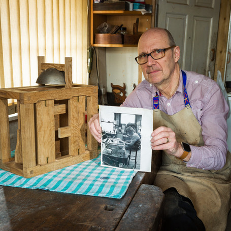 Matthew King - apprentice to craftsman, still working at the same bend 45 years on. Photography by Brian Pearce