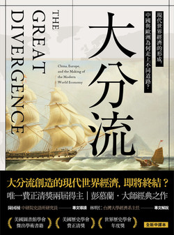 大分流:現代世界經濟的形成,與中國為何走上不同道路?